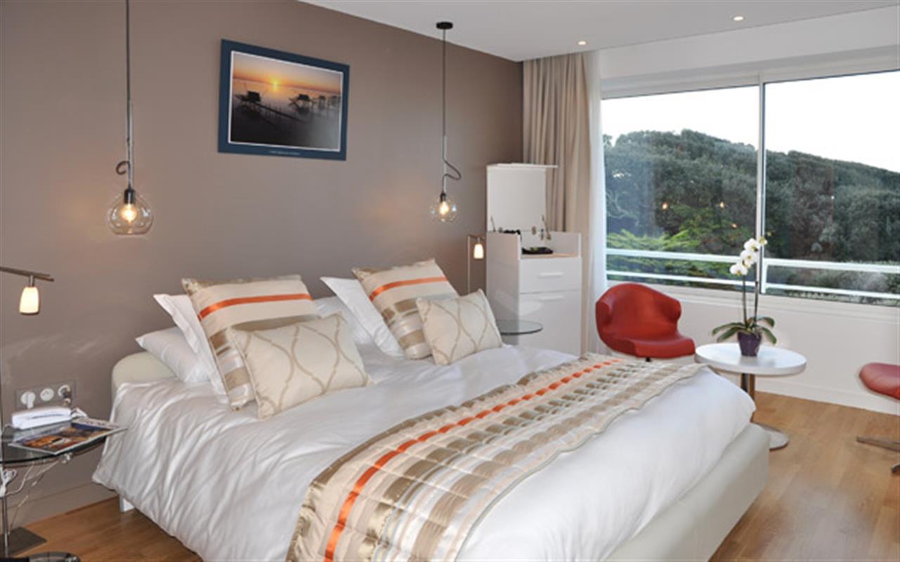 Chambre panoramique le ch teau hotel oleron hotels ile - Chambre d hote avec massage naturiste ...
